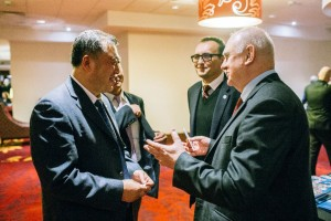 Zhao Chunchao, Tomasz Chalimoniuk,  Marek Banaszkiewicz