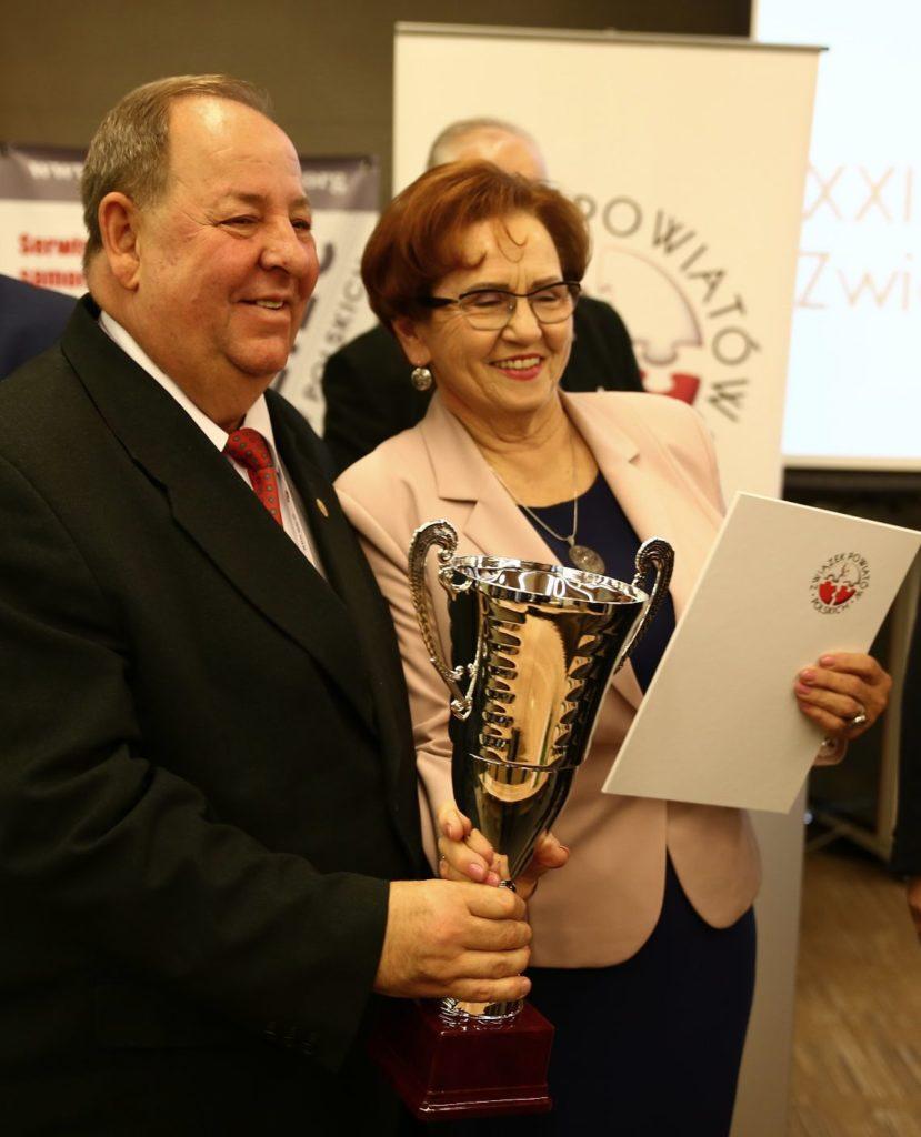 podczas XXII Zgromadzenia Ogólnego ZPP odbyła się uroczystość wręczania nagród zwycięzcom Ogólnopolskiego Rankingu Gmin i Powiatów