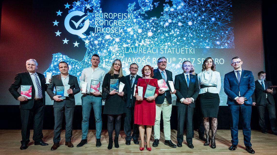 Wręczenie certyfikatów Jakość Roku® 2017