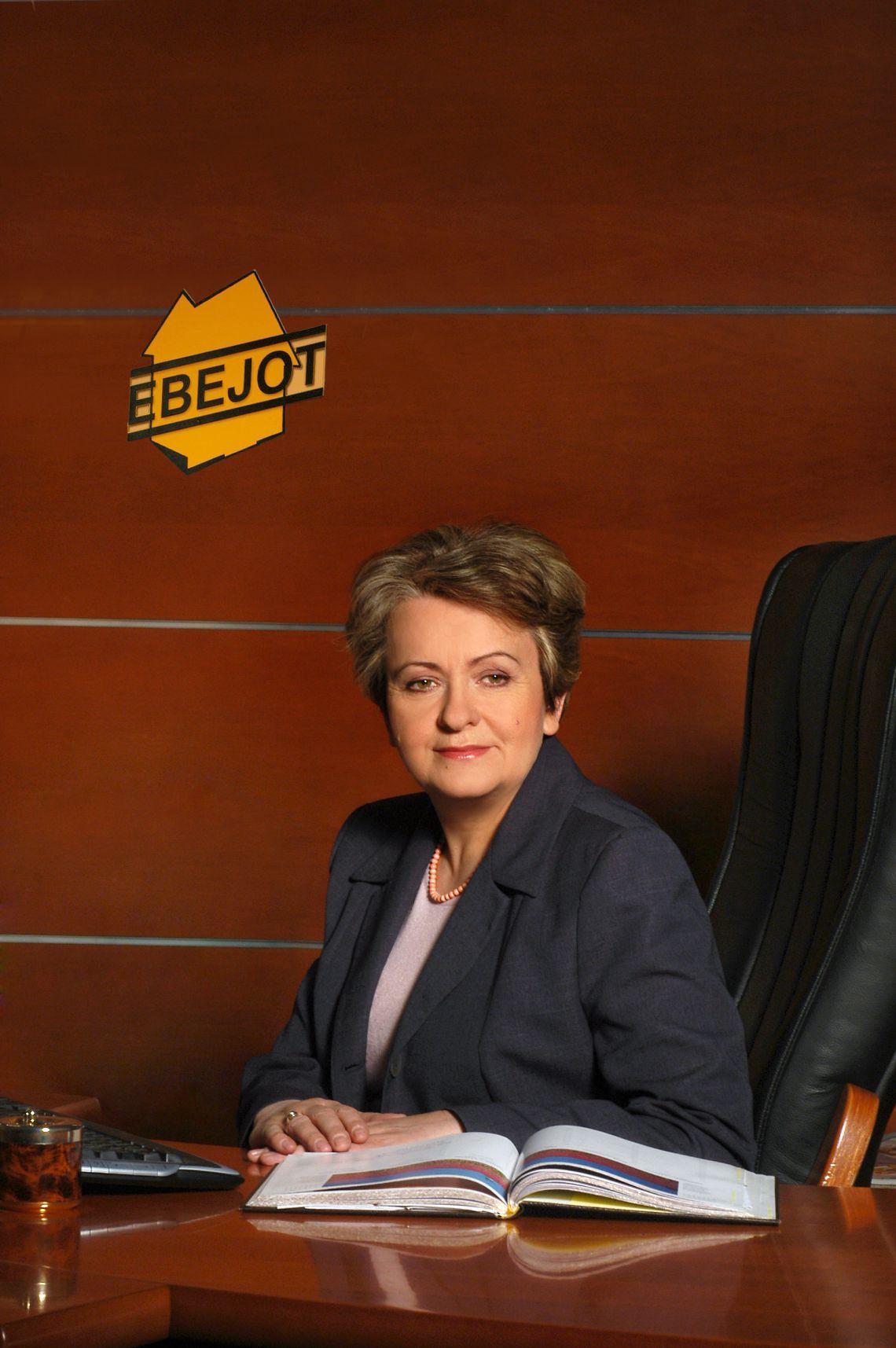 Regina Katner, wiceprezes zarządu EBEJOT