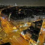 Paryż nocą - zdjęcie wykonane smartfonem P30