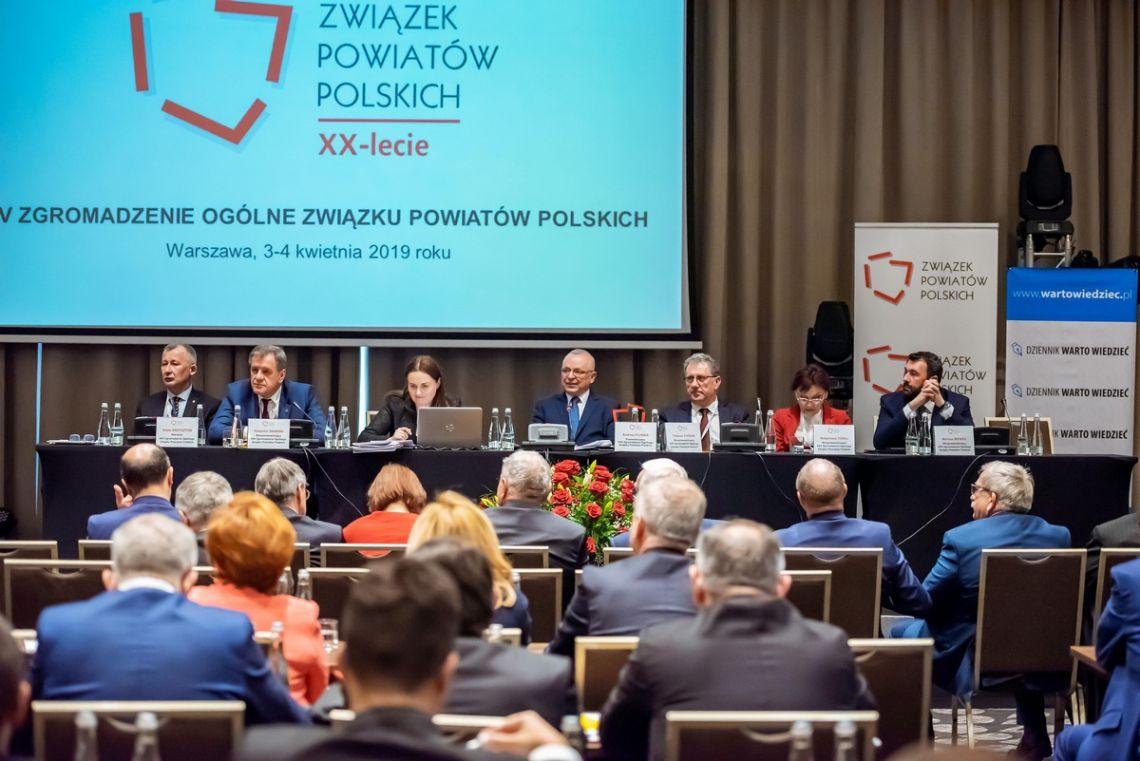 XXV Zgromadzenie Ogólne Związku Powiatów Polskich