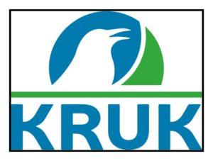 KRUK logotyp z marginesami