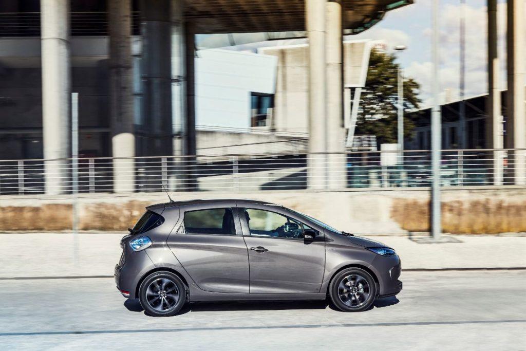Samochód elektryczny-renault-zoe