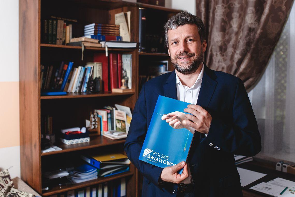Tomasz Nasiłowski, prezes firmy InPhoTech