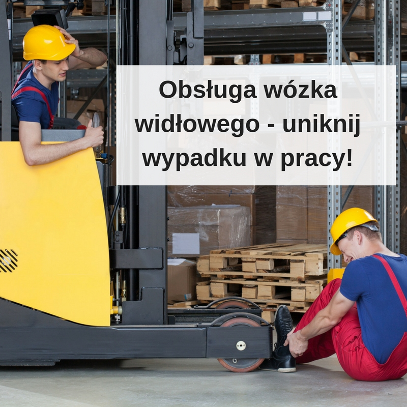 Obsługa wózka widłowego