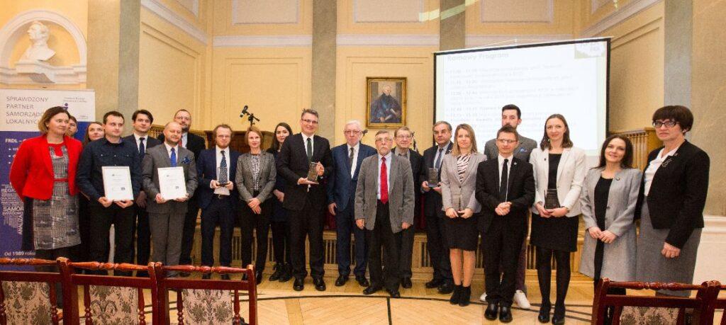 Uroczystość wręczenia Nagrody im. Jerzego Regulskiego