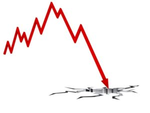 ile spadł bitcoin