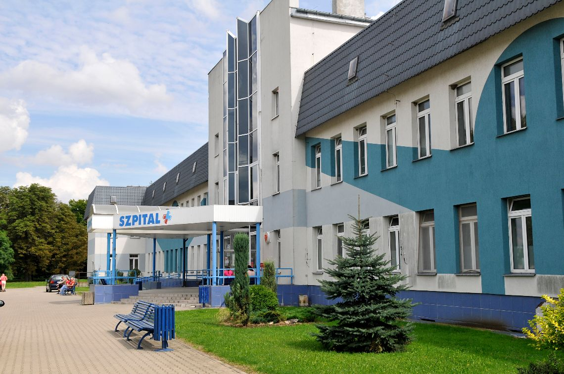 """Budynek Regionalnego Szpitala Specjalistycznego """"Latawiec"""" w Świdnicy"""