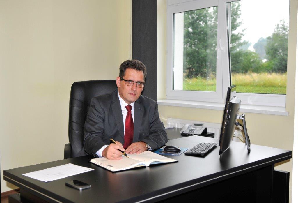 """Grzegorz Kloc, dyrektor Regionalnego Szpitala Specjalistycznego """"Latawiec"""" w Świdnicy"""
