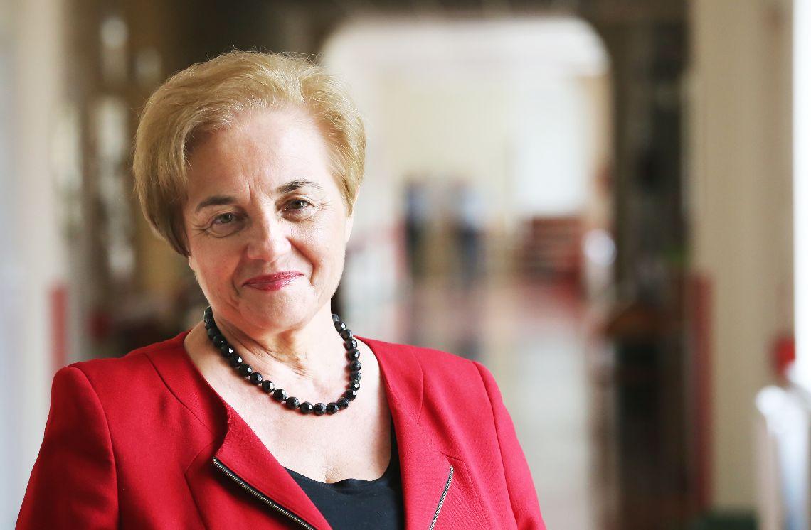 Irena Petryna, dyrektor Samodzielnego Publicznego Zespołu Gruźlicy i Chorób Płuc w Olsztynie