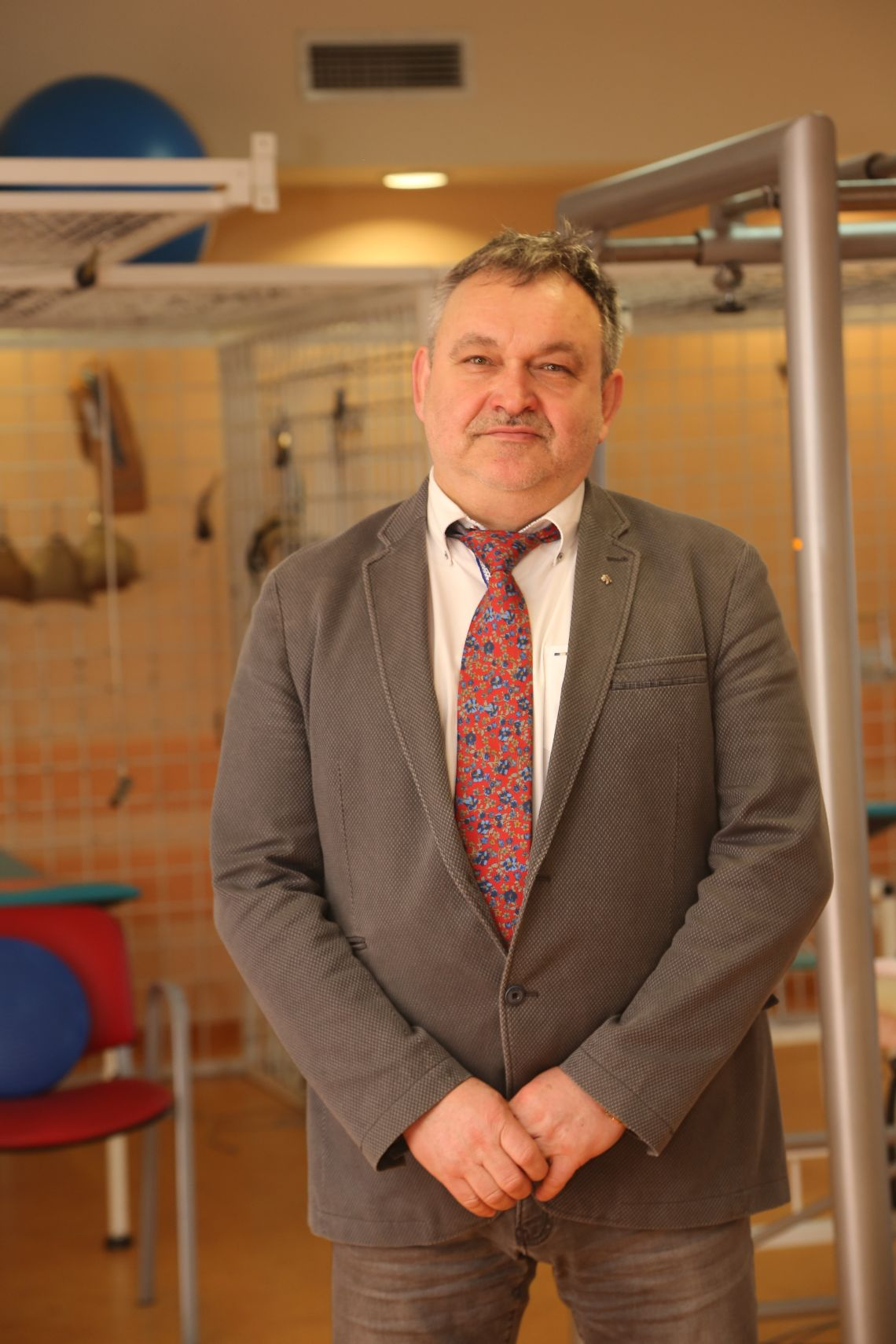 Jan Krakowiak, prezes Poddębickiego Centrum Zdrowia