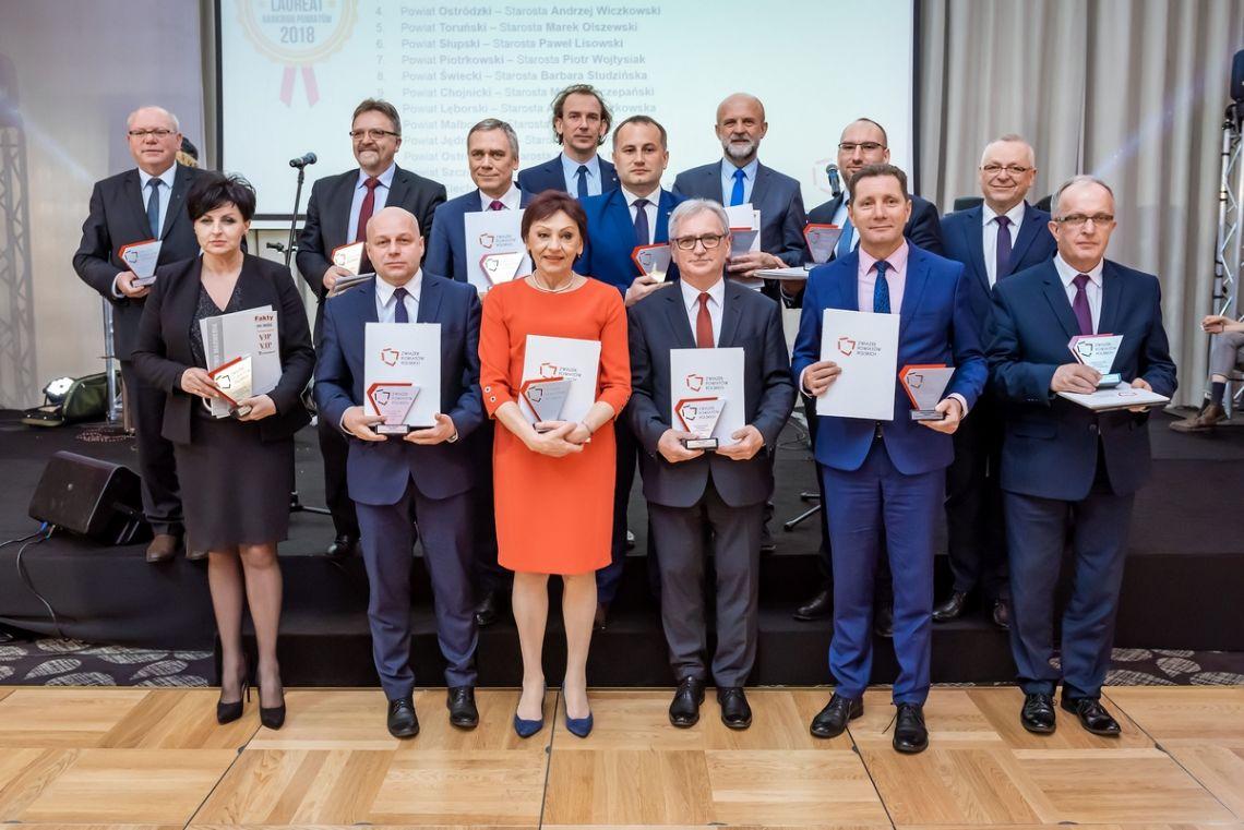 Laureaci Ogólnopolskiego Rankingu Związku Powiatów Polskich