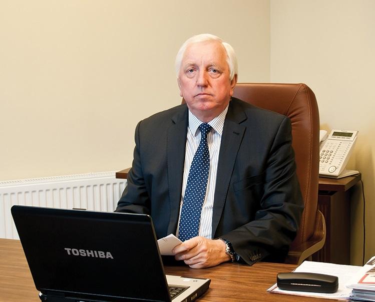 """Zbigniew Ciecholewski, były prezes spółki """"Ciecholewski – Wentylacje""""."""